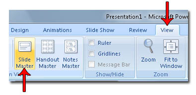 how to create a powerpoint 2007 template | powerpoint 2007 hints, Modern powerpoint