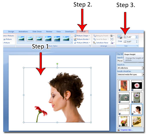 resizing clip art word 2007 - photo #3